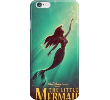The Little Mermaid Movie Poster iPhone Case/Skin