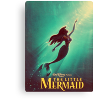 The Little Mermaid Movie Poster Canvas Print