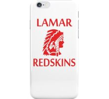Lamar Redskins iPhone Case/Skin