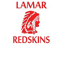 Lamar Redskins Photographic Print