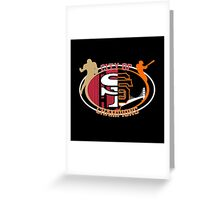 San Francisco City of Champions Greeting Card