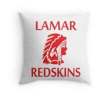 Lamar Redskins Throw Pillow
