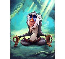 Rafiki Meditating Photographic Print