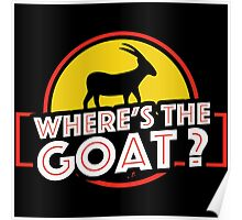 Jurassic Park - Where's The Goat? Poster
