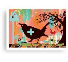 Bird Aid Canvas Print