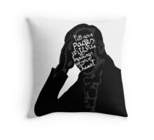 Fill your pages with the breathings of your heart. Throw Pillow