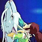 Spirited Away Chihiro/Haku by GiraffesAreCool