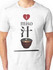 I Love Miso Soup! Unisex T-Shirt