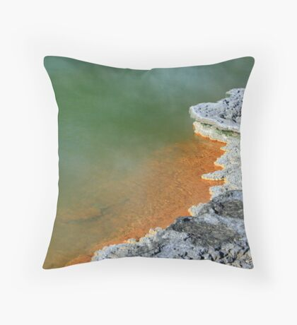 Champagne Pool #1 Throw Pillow