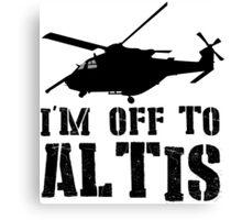 Arma 3 - I'm off to Altis #2 Canvas Print