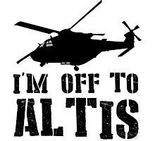 Arma 3 - I'm off to Altis #2 Photographic Print