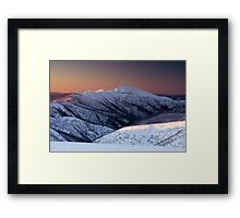 Feathertop at Sunset Framed Print