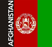 flag of afghanistan by tony4urban
