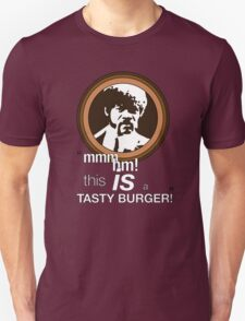 """This is a tasty burger!"" Unisex T-Shirt"