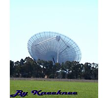 The Dish from a Paddock Photographic Print