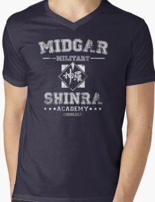 Midgar Academy Mens V-Neck T-Shirt