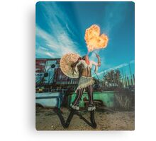 Dragons Heart Metal Print