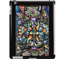 091111 Play Your Hand, Make Your Move © iPad Case/Skin
