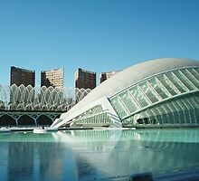 iMax 2, Arts & Sciences Park, Valencia by Fred Shively