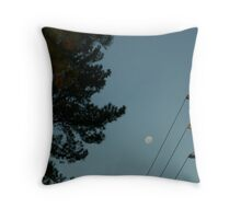ordinary moon Throw Pillow