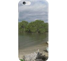 Mangroves & Old Dinghies! 'Karuah', Nelson Bay lake, Cent. N.S.W. iPhone Case/Skin