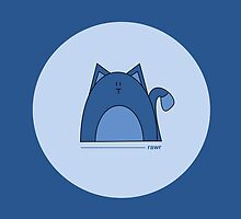 Blue Cat by Louise Parton