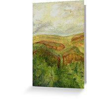 Long Range View (Card) Greeting Card