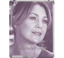 Meredith Grey  iPad Case/Skin