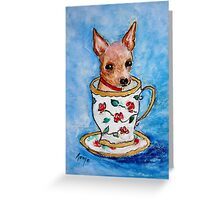Teacup... Greeting Card