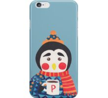 Winter Season is Coming (Penguin Edition) iPhone Case/Skin