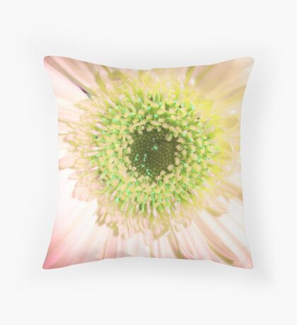Gerbera Fade Throw Pillow