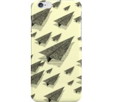Paper Airplane 13 iPhone Case/Skin