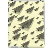 Paper Airplane 13 iPad Case/Skin