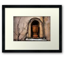 Touch of Tuscany Framed Print