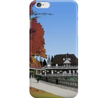 Yachting Club - Stanley Park iPhone Case/Skin