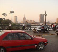 Kasr El-Nile Bridge by Mondy