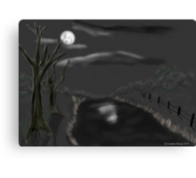 Haunted By Moonlight Canvas Print
