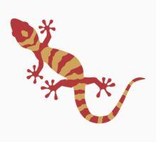 Orange gecko Kids Clothes