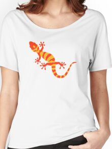 Orange gecko Women's Relaxed Fit T-Shirt
