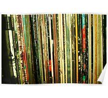 vinyl life Poster
