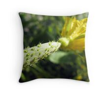 Cucumber nubs Throw Pillow