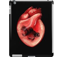 Black Moor Heart iPad Case/Skin