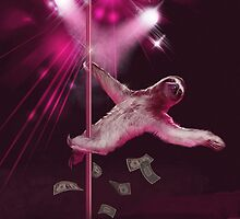 Sloth Stripper by seansfawns