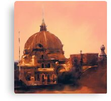 Flinders Street Station - Melbourne, Victoria, Australia Canvas Print