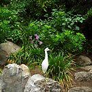 White Egret by Kristin Nichole Hamm