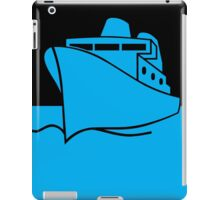 ship iPad Case/Skin