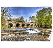 The 7 Arches Bridge - River Douglas, Co. Derry   Poster