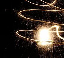Spiralling Sparkles by ErinJain