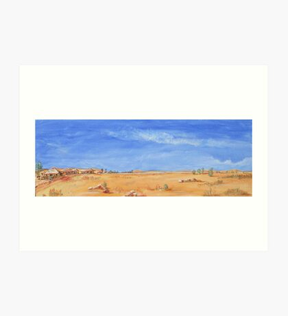 Outback! Art Print