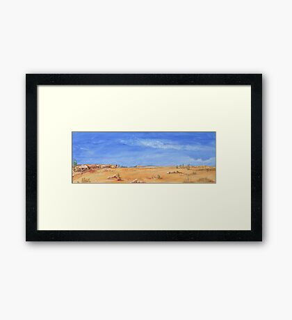 Outback! Framed Print